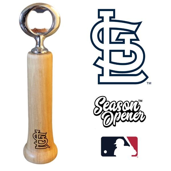 St. Louis Cardinals Bat Handle Bottle Opener Baseball Gift