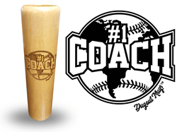 #1 coach baseball bat mug gift