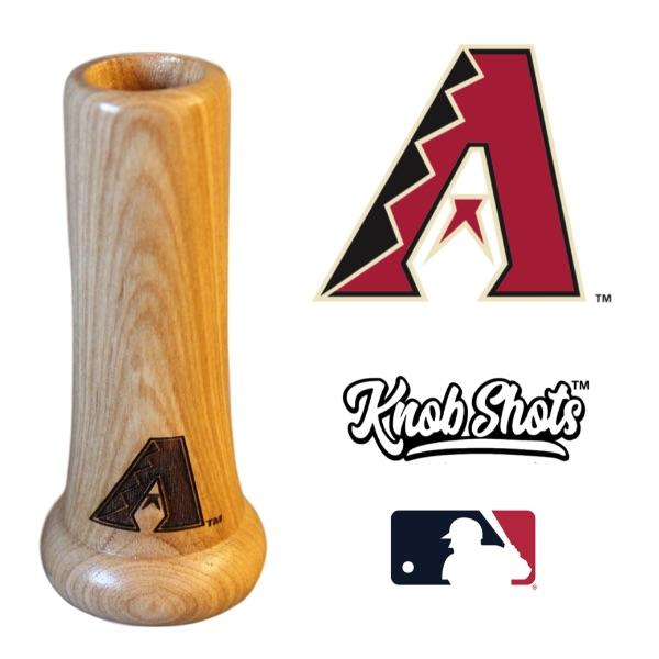 Arizona Diamondbacks Bat Handle Shot Glass Baseball Gift
