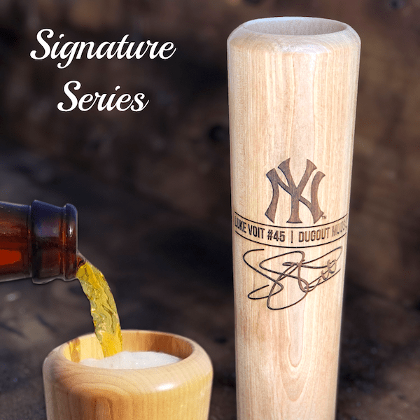Luke Voit Baseball Bat Mug | Autograph Giveaway | Dugout Mugs® - No engraving