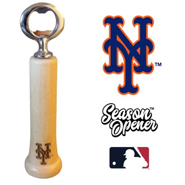 New York Mets Bat Handle Bottle Opener Baseball Gift