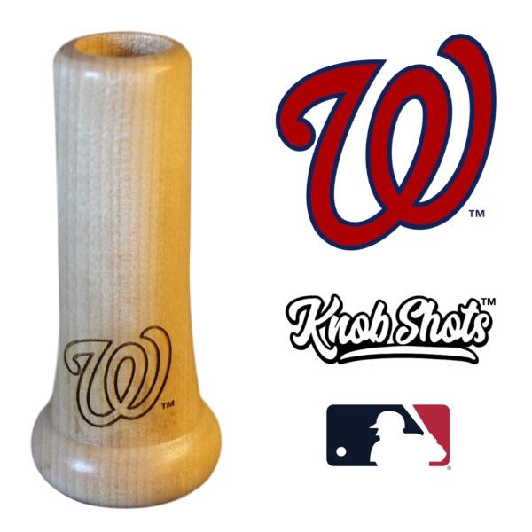 Washington Nationals Bat Handle Shot Glass Baseball Gift