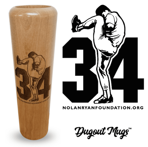 Nolan Ryan Foundation Dugout Mugs®