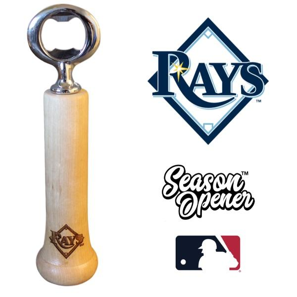 Tampa Bay Rays Bat Handle Bottle Opener Baseball Gift