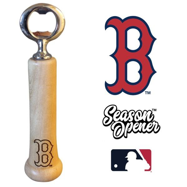 Boston Red Sox Bat Handle Bottle Opener Baseball Gift