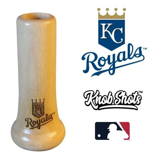 bat knob shot glass Kansas City Royals