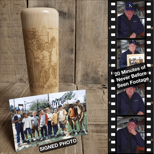 Legends Never Die Dugout Mug and Autographed Photo -