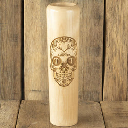 texas rangers Sugar Skull Baseball Bat Mug