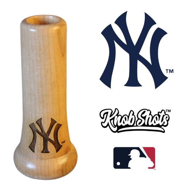 New York Yankees Bat Handle Shot Glass Baseball Gift