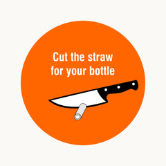 Cut straw to length