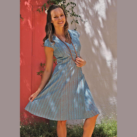 Blue Gum Dress