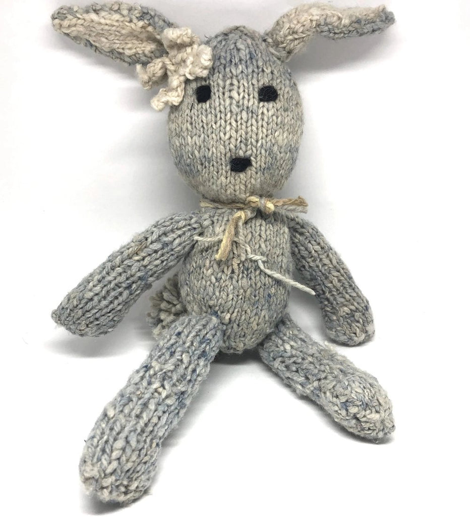 Ditsy Blue Rabbit