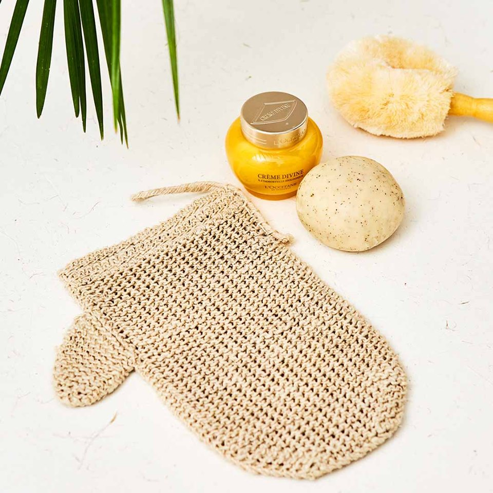 Hemp Exfoliating Mitt