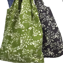 Load image into Gallery viewer, Hampi Shopping Bag - Fern Design
