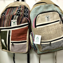 Load image into Gallery viewer, Hemp Backpack - Large