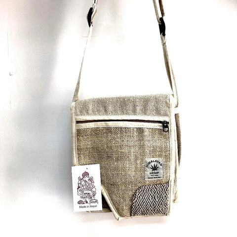 Hemp Flap Bag