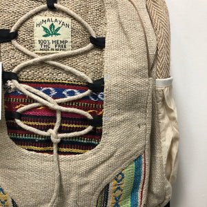 Hemp Backpack - Large