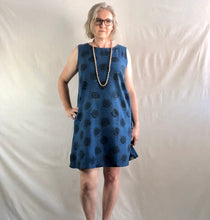 Load image into Gallery viewer, Sleeveless Circle Dress - Indigo