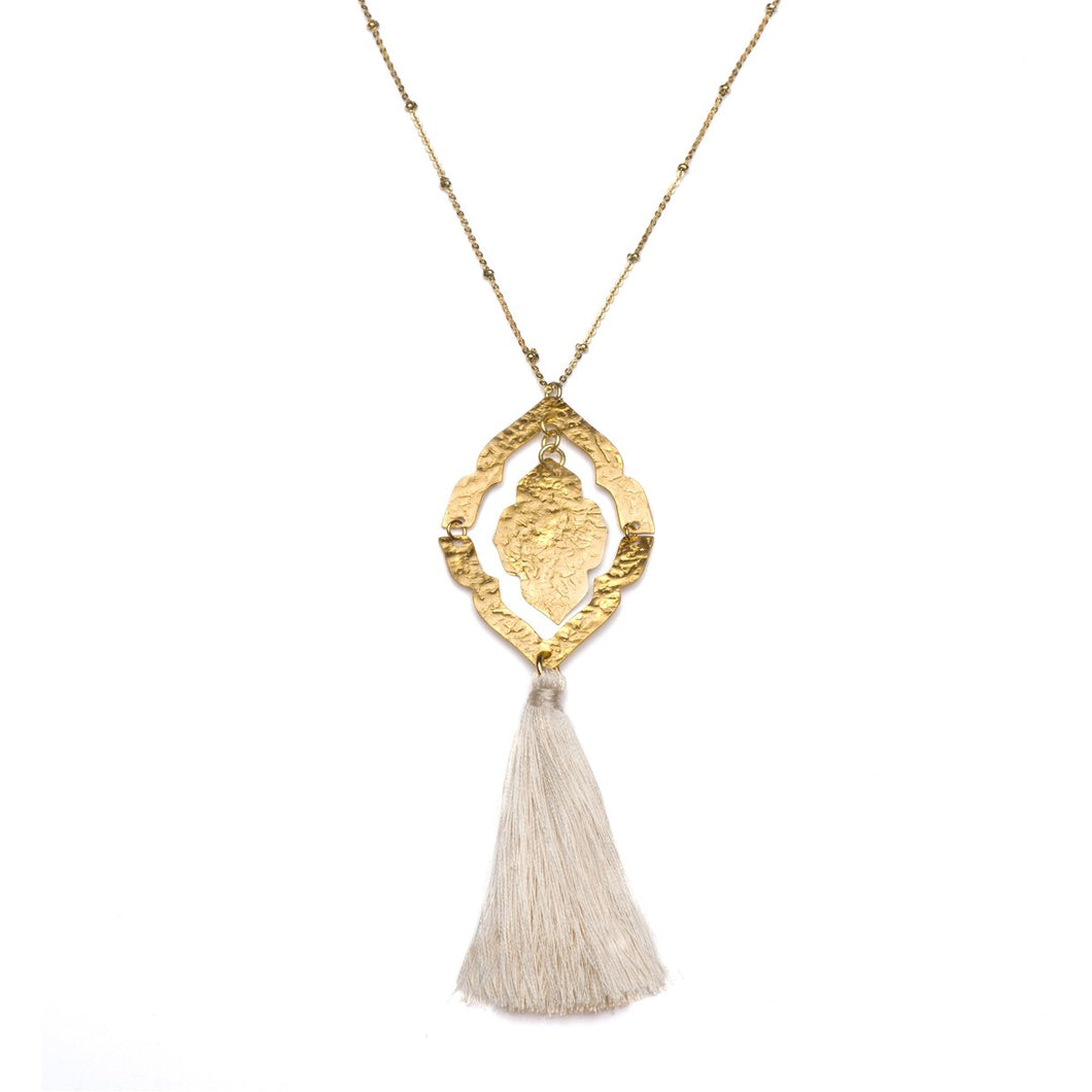 Nihira Ashram Window Necklace