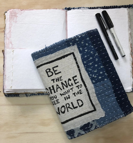 Waste Not Want Not Journal - Be the Change