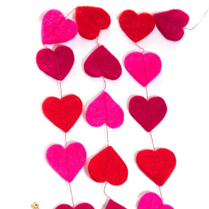Mini Hearts Garland