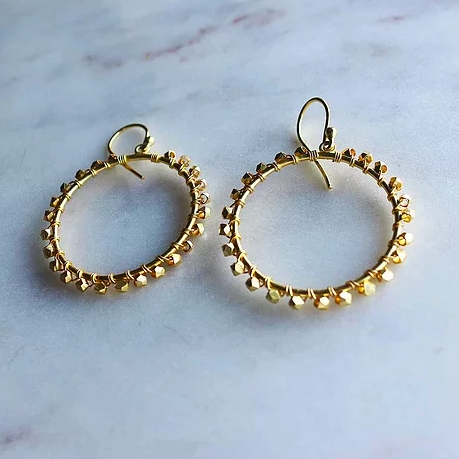 Newfound Celebration Earrings - Gold