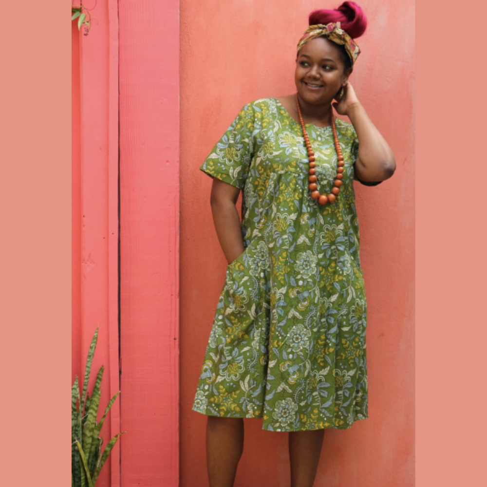 Protea Bloom Dress - M Only
