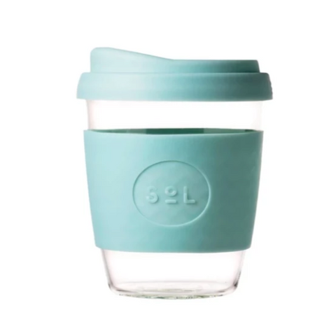 Reusable Coffee Cup - Glass 12 oz
