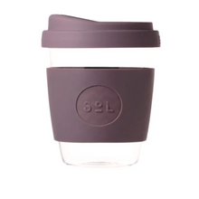 Load image into Gallery viewer, Reusable Coffee Cup - Glass 12 oz