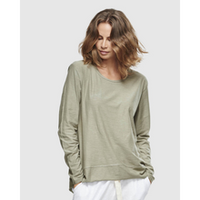 Load image into Gallery viewer, Shavasana Long Sleeve Organic Tee - Sage