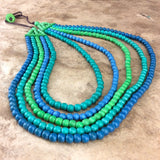 Seaspray 5 Strand Necklace