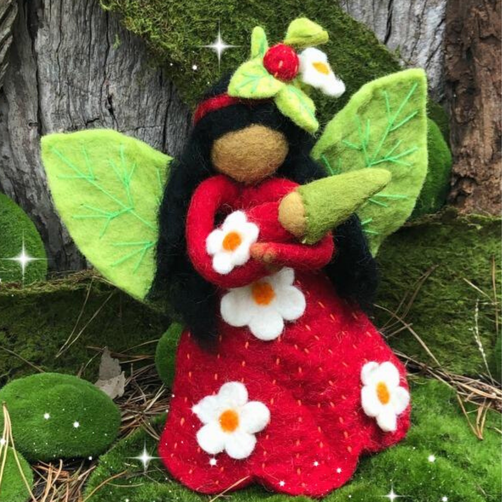 Strawberry Faery Mother - Large