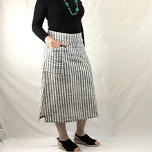 Load image into Gallery viewer, Longline Stripe Skirt