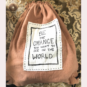 Waste Not Want Not Drawstring Backpack