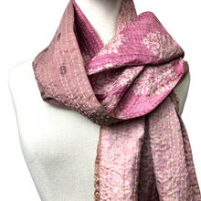 Load image into Gallery viewer, Silk Stitched Scarf - Var. Colours