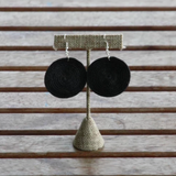 Sisal Circle Earrings