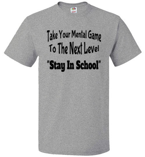 Stay In School - The TeaShirt Co.