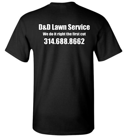 D&D Lawn Service Short Sleeve - The TeaShirt Co.