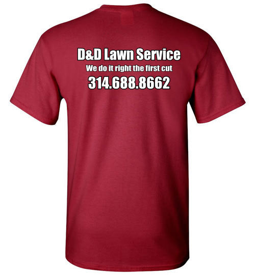 D&D Lawn Service Short Sleeve - The TeaShirt Co. - 6