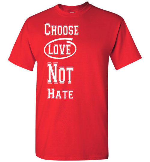 Love Not Hate - The TeaShirt Co. - 5