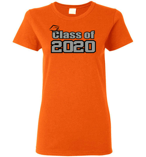Class of 2020 silver ladies Tee