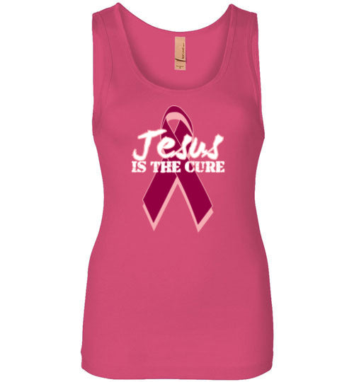 Jesus Is The Cure Ladies T