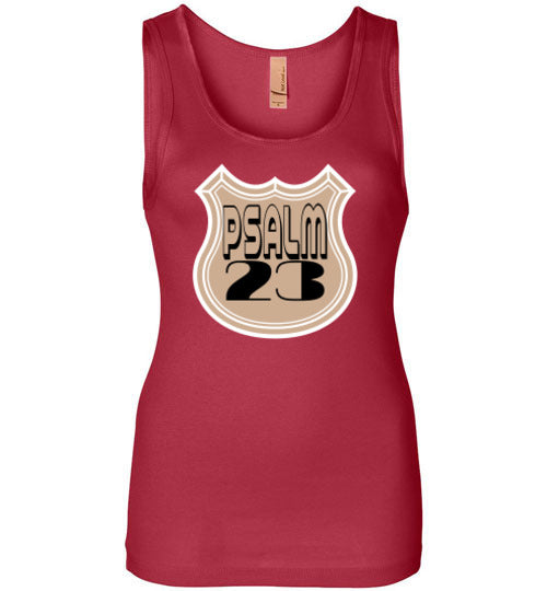 Psalm 23 Ladies Tank