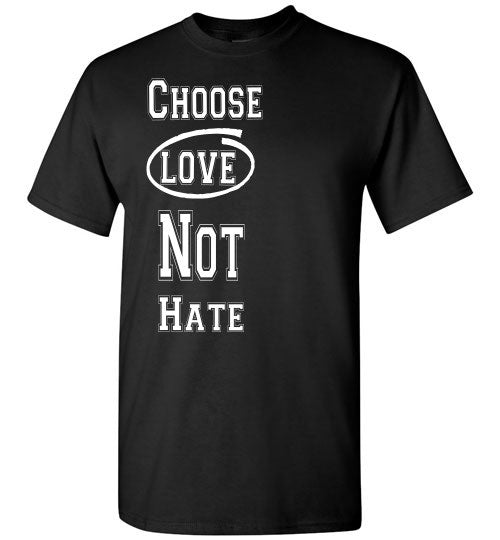 Love Not Hate - The TeaShirt Co. - 1