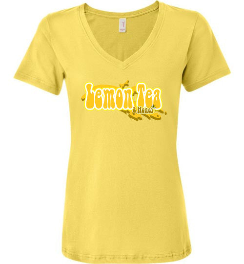Lemon Tea and Honey - The TeaShirt Co. - 1