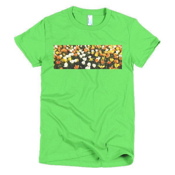 Flowers in The Field By KB - The TeaShirt Co.