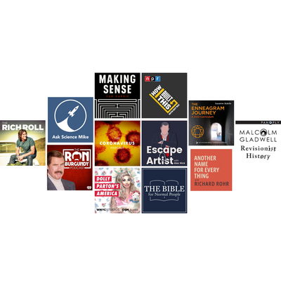 Top Picks: Podcasts!