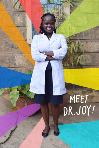 New Team Member: Dr. Joy!