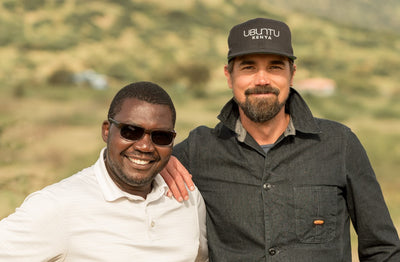 Jeremiah Kuria and Zane Wilemon, Ubuntu Life co-founders.