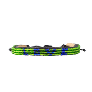Green and Blue Skinny LOVE Bracelet